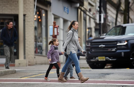 Ridgewood's new master plan will address pedestrian safety. One option is curb extensions, which narrow the street-crossing distance for pedestrians and encourage drivers to make slower turns.