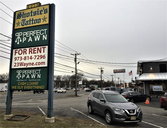 Pacific Outdoor Advertising, of Linwood, planned to erect a billboard at this commercial property on Route 23 south in Wayne.