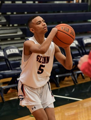 John Glenn guard Isaiah Lawrence has perfected his shooting form, even without a right hand.