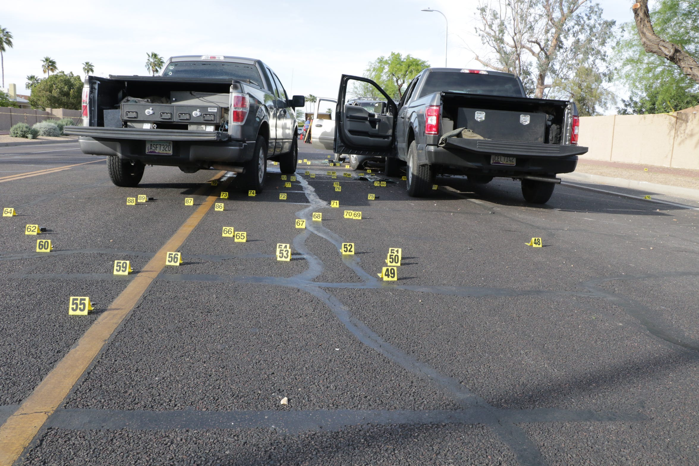 The Phoenix Police Department investigated the shooting involving federal agents from Homeland Security Investigations on April 11, 2019, in Ahwatukee Foothills.