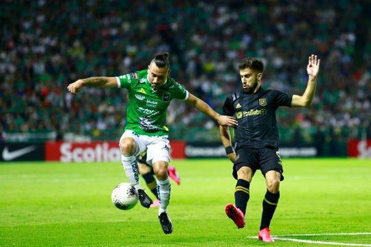 León sacó un buen resultado ante LAFC en el juego de ida de la Concachampions.