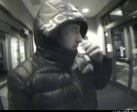 Here's a look at the man that state police believe is involved in a grand larceny case.