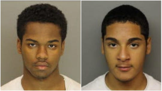 Police are looking for Zyir Lilly, left, and Nafis Goodman.