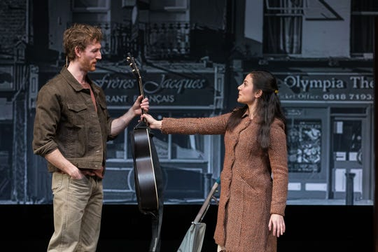 "Elliot Greer and Samantha Sayah: Guy meets Girl in ""Once"" at Geva."