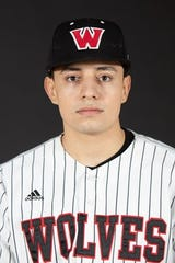 Alan Vasquez struck out 11 batters for Western Oregon over the weekend.