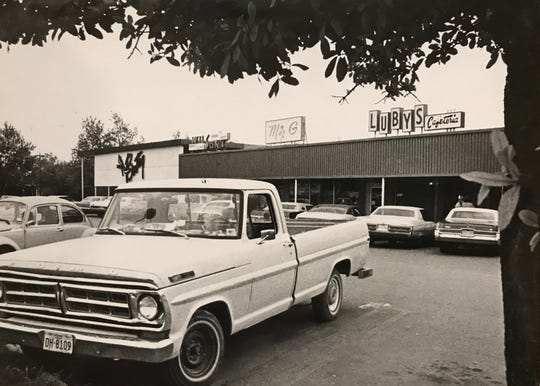 The Luby family in San Angelo opened a 6,300-square-foot cafeteria in the Village Shopping Center in September of 1959.