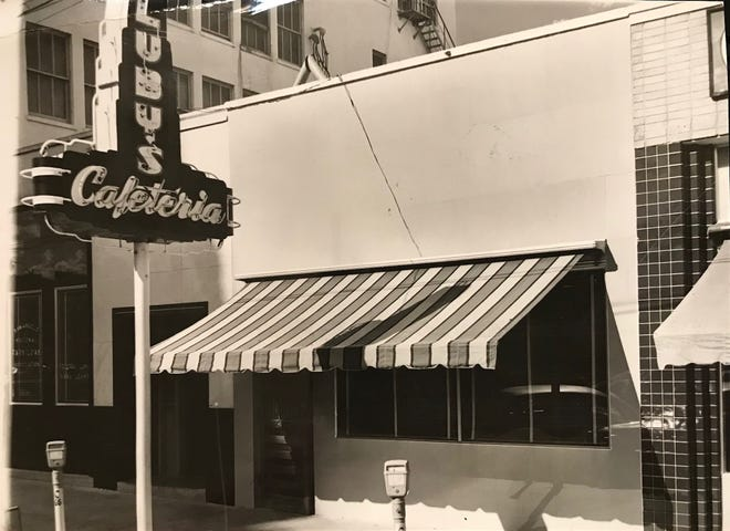 Luby's Cafeteria in San Angelo opened in 1946, and was owned and operated by Mack Luby, a cousin of founder Harry Luby, and the rest of his family.