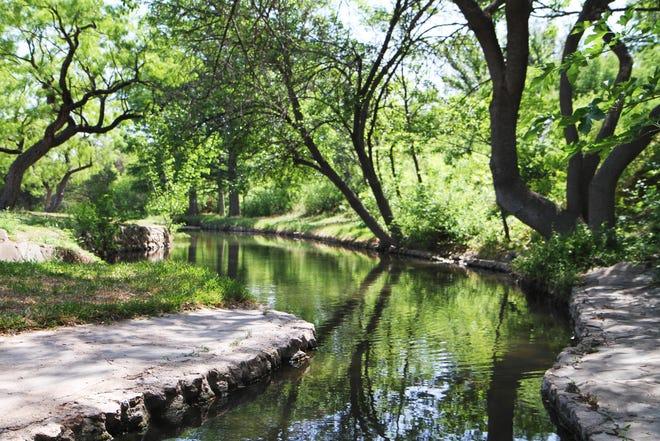 Sulfur Springs Park in San Angelo's Santa Rita neighborhood.