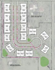 The Greater Sioux Falls Habitat for Humanity plans a townhome development near 34th Street North and St. Paul Avenue.