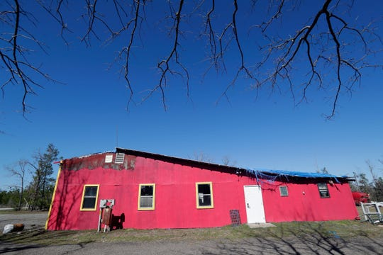 The Calhoun County volunteer firehouse has been declared a total loss.