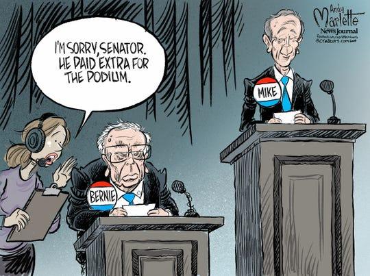 Bernie vs. Mike