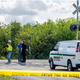 Authorities investigate the scene where a pedestrian was hit and killed by a northbound Amtrak train north of the intersection of Bee Line HIghway and Indiantown Road in Jupiter Feb. 18, 2020.