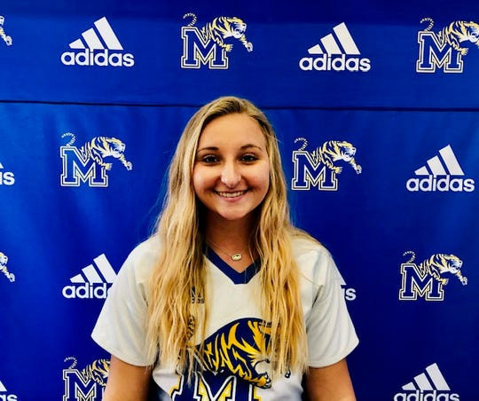 Martin County pitcher Emily MacMullen
