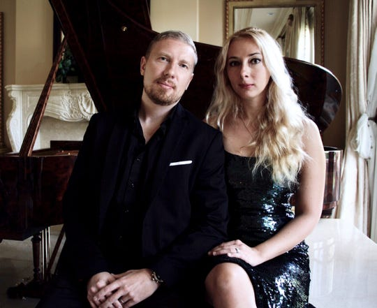 The Duo Smirnov, Angelika and Anton Smirnov,  will performoriginal, classical, jazzand other works Feb. 22 as part of theClassical Concerts on the Hill at theHillcrest Center for the Arts.