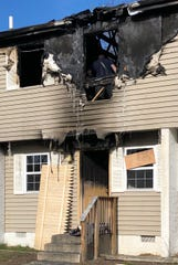 Firefighters are trying to pinpoint what started a fire at the Walnut Manor that left, at least, one family homeless.