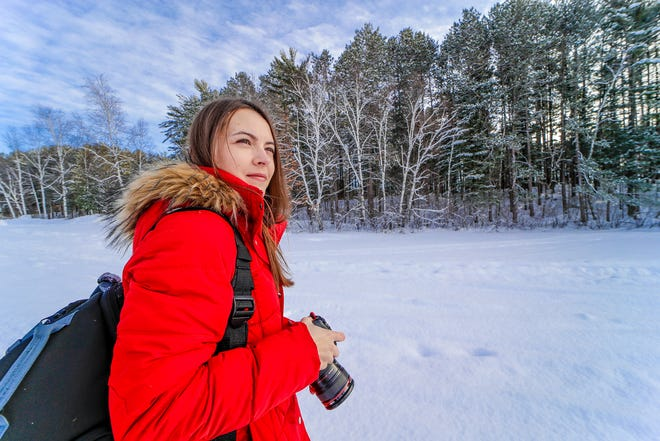 Kristen Carlson runs the Instagram account @missnortherner and a blog by the same name, where she shares and promotes Northwoods lifestyle in Wisconsin and the upper Midwest. In 2020, she became an ambassador for Kwik Trip. Originally from Wausau, she enjoys taking pictures at Bradley Park in Tomahawk. She is pictured here on Feb. 10, 2020 at Bradley Park.