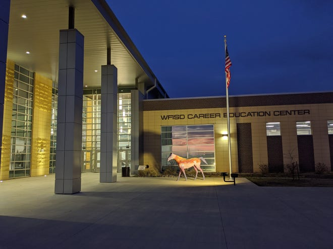 The WFISD Career Education Center held a open house Tuesday, Feb. 19, 2020. The open house invited te community to meet teachers and see projects students have been working on.