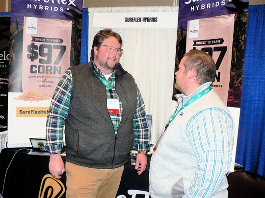Mitch Rowe, left, started SureFlex Hybrids four years ago.