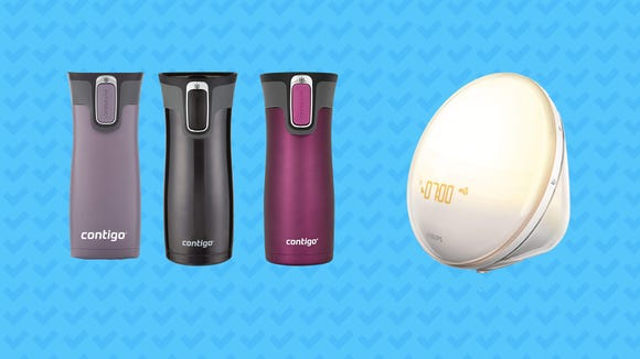 This Wednesday, save on alarm clocks, travel mugs, cleaning gel, and more.