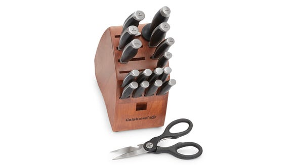 This set of knives can save you a ton and will look great in your kitchen, too.