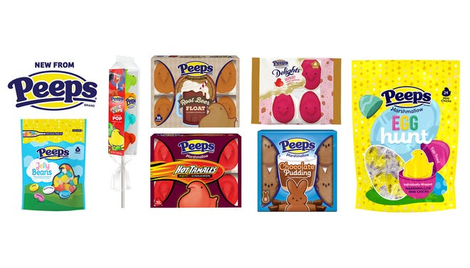 Peeps unveils seven new treats just in time for Easter.