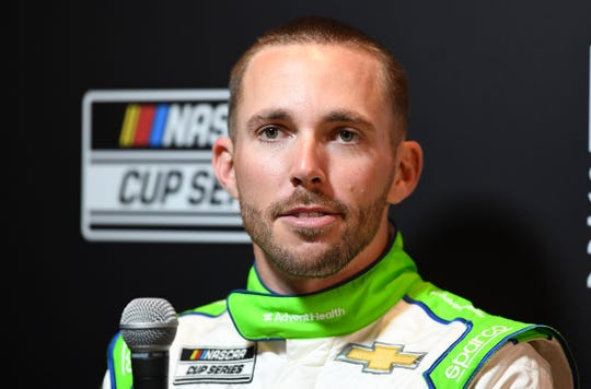 Ross Chastain, who drove a Chevrolet in Sunday's Daytona 500, will drive the No. 6 Ford in place of Ryan Newman beginning this weekend in Las Vegas.
