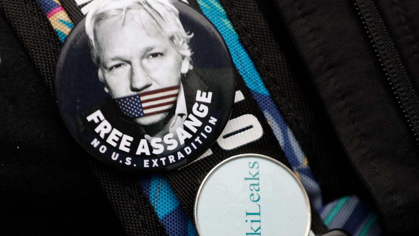 Trump offered Julian Assange a pardon if he cleared Russia in DNC email leak, lawyer says