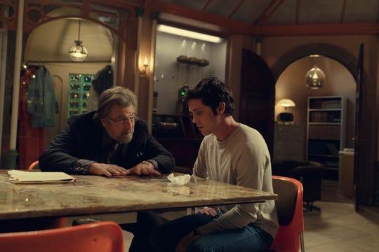 "Al Pacino and Logan Lerman play Nazi hunters in Amazon's ""Hunters."""