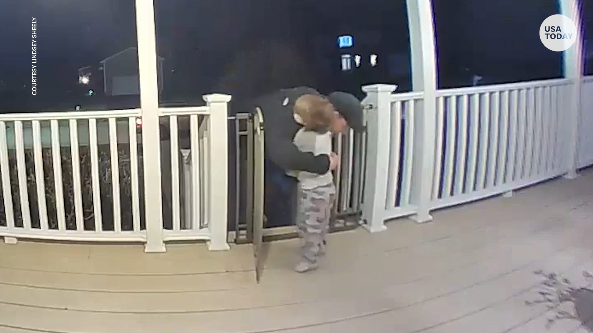 Toddler s hug to complete stranger means more than what this camera captured