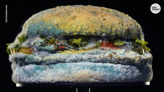 A moldy Whopper? Burger King launches campaign to highlight removal of artificial preservatives
