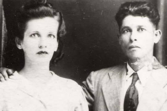 An undated photo of Genoveva Román and her husband Jesús Gregorio Román. Ms. Román celebrated her 102 birthday on Feb. 20, 2020, and recalled her experience as a survivor of Hurricane María. The hurricane hit the island on Sept. 20, 2017.
