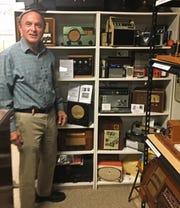 Stuart Smolkin, at the AVL Radio Museum.