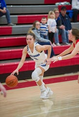 Crestline's Hannah Delong was named second team All-MBC.