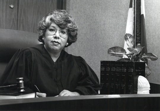 Hilda Tagle was the first woman to serve as a court-at-law judge in Nueces County and then the first Hispanic female judge from Texas appointed to a federal judgeship.