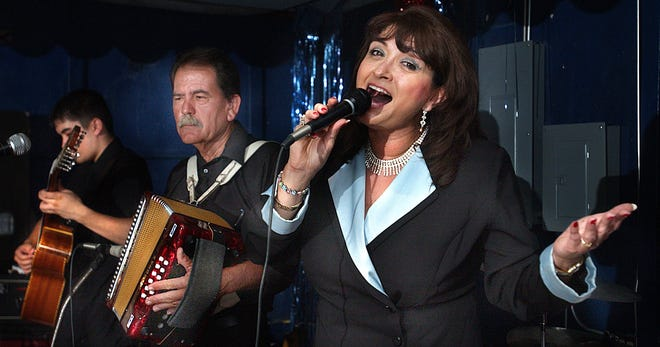 """Performing for more than 50 years, Tejano legend Linda Escobar, scored her first gold record at age 9 with """"Frijolitos Pintos."""""""