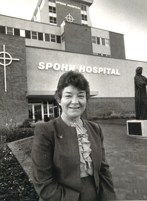 Sister Kathleen Coughlin was appointed president of Corpus Christi's Spohn Hospital in 1981 and eventually the chief executive officer of Spohn Health System. She retired in 1995.
