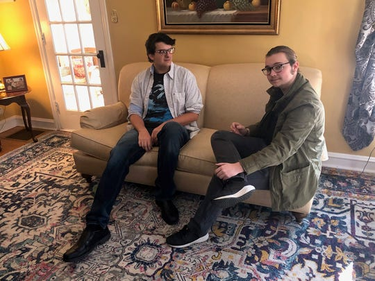 Peter Slattery and Tommy Zieger, both students and vocalists at Cherry Hill High School East, talk about getting accepted into the A Cappella Academy summer program in Los Angeles.