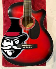 Austin Peay guitar part of The Music City package.