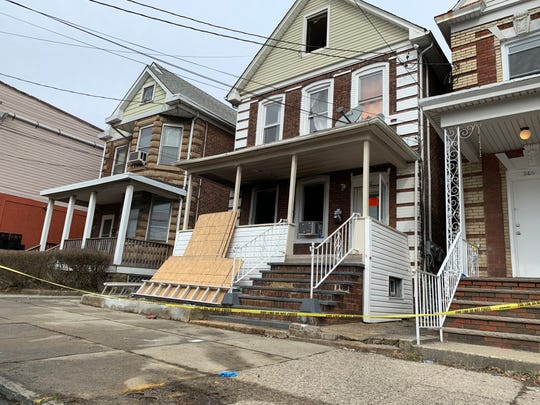 Five people living in a Lawrie Street home in Perth Amboy were displaced by an early morning fire.