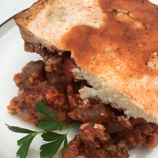 Classic Moussaka dish gets a healthy makeover.