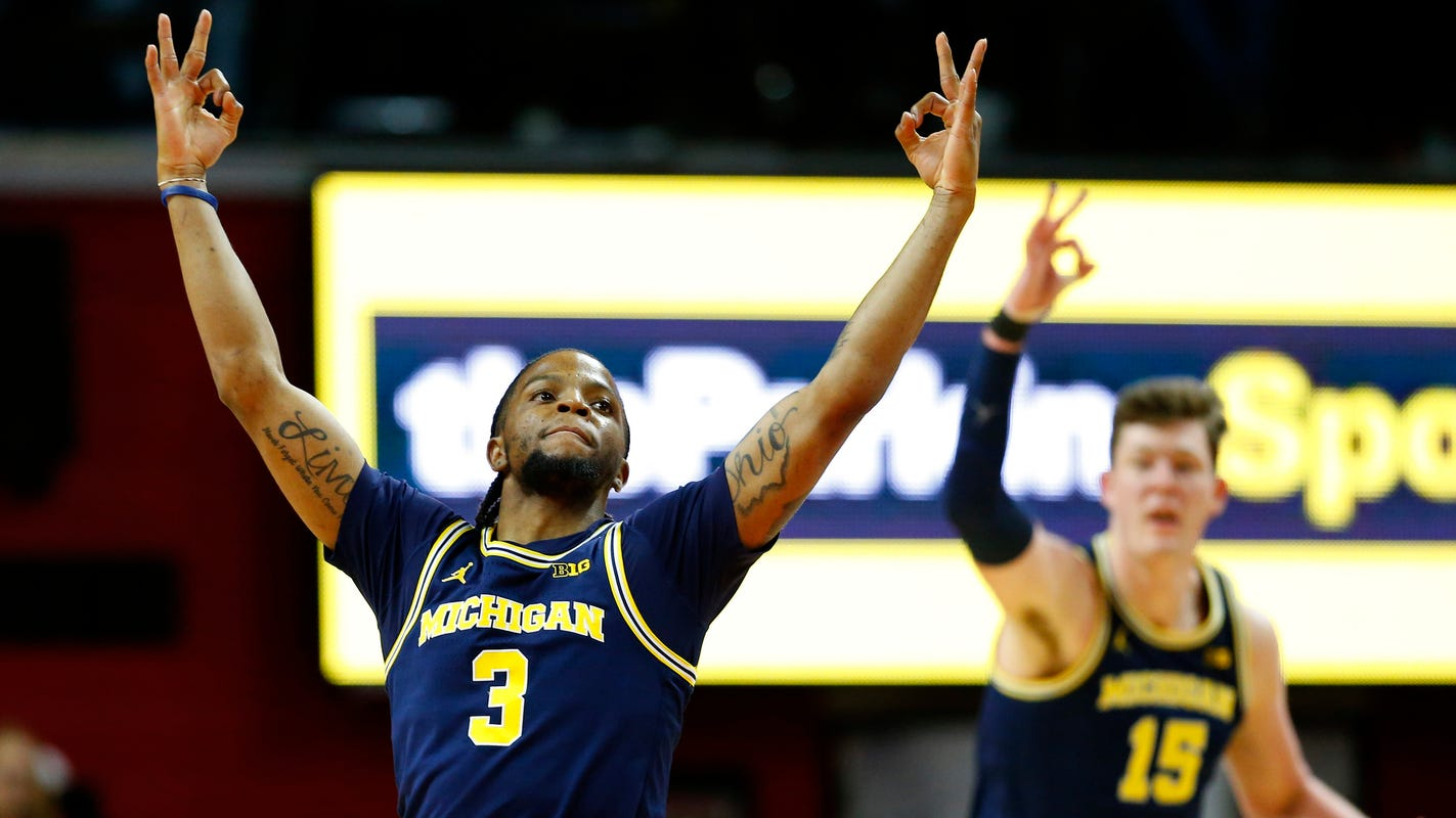 Michigan basketball makes statement with win at Rutgers