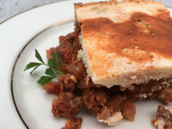 Moussaka with a healthy twist.