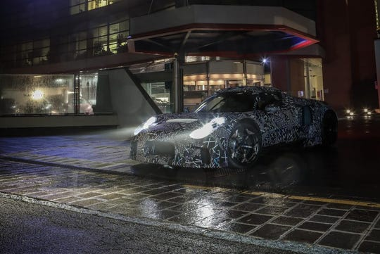 Fiat Chrysler Automobiles NV's Maserati luxury brand in November shared its own photos of the upcoming super sportscar covered in a wrap driving around Modena, Italy, ahead its formal debut sometime in early 2020.