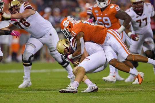 Clemson's Isaiah Simmons is considered the top linebacker prospect in the NFL Draft.