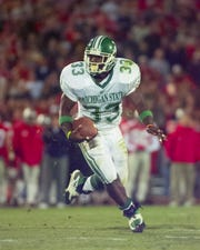 Former Michigan State tailback Sedrick Irvin was a fourth-round NFL draft pick by the Lions in 1999.