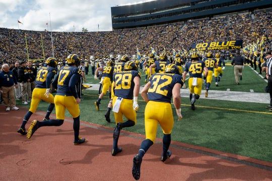 Michigan opens the 2020 season Sept. 5 at Washington.