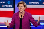 Democratic presidential candidate, Sen. Elizabeth Warren, D-Mass.