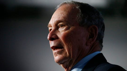 Democratic presidential candidate and former New York City Mayor Mike Bloomberg
