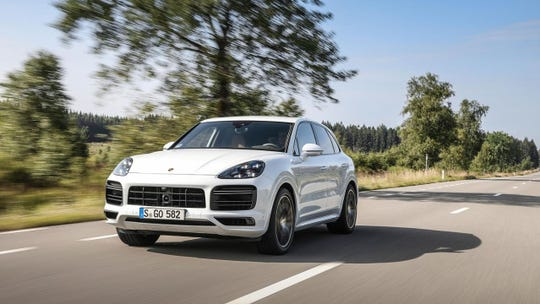 Porsche was the top-ranked brand out of 33. Shown here is the Cayenne SUV.