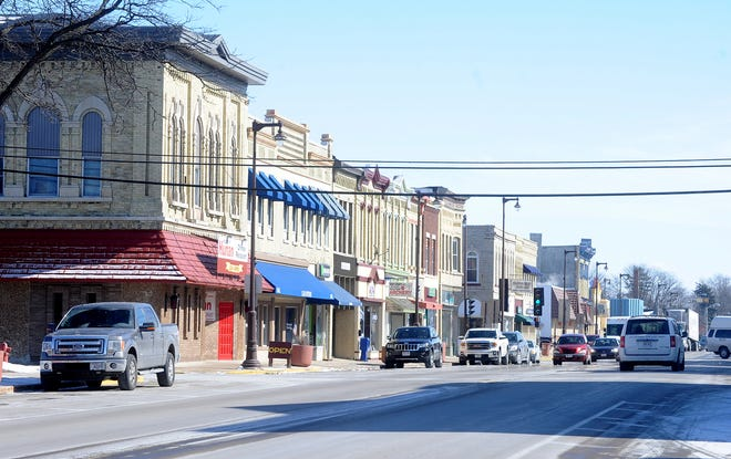 A look downtown Waupun's Main Street in 2015.